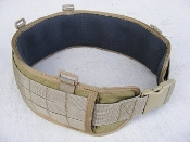 HSGI Sure-Grip™ Padded Belt, FDE Medium