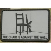 Chair Against the Wall BLK
